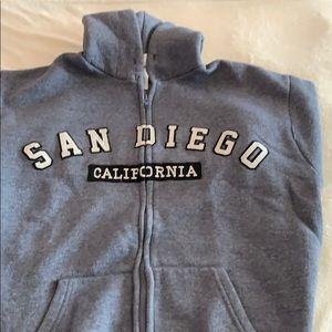 Other - San Diego California zip down sweatshirt M